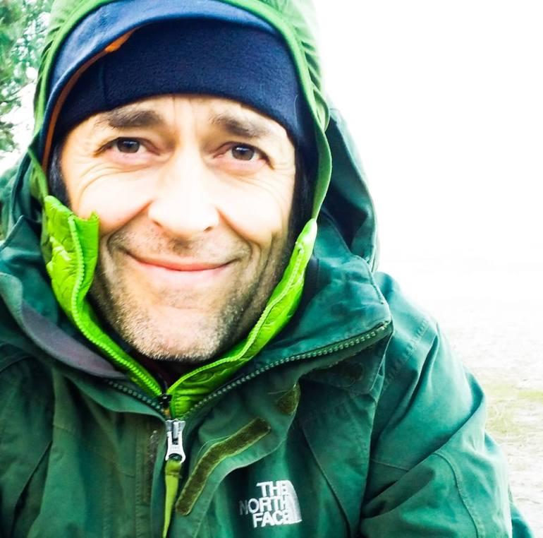 portrait Frits Ahlefeldt, HikingArtist