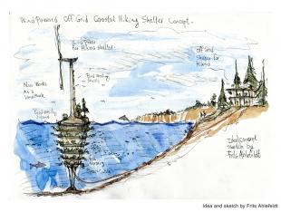 design for a biodiversity wind turbine