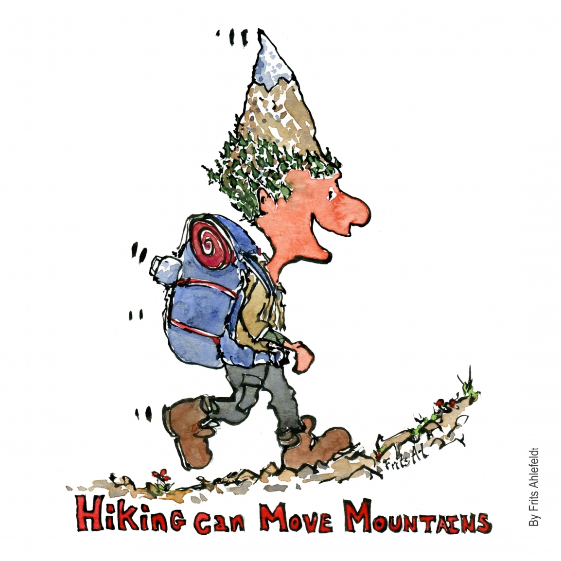 Hiking can move mountains