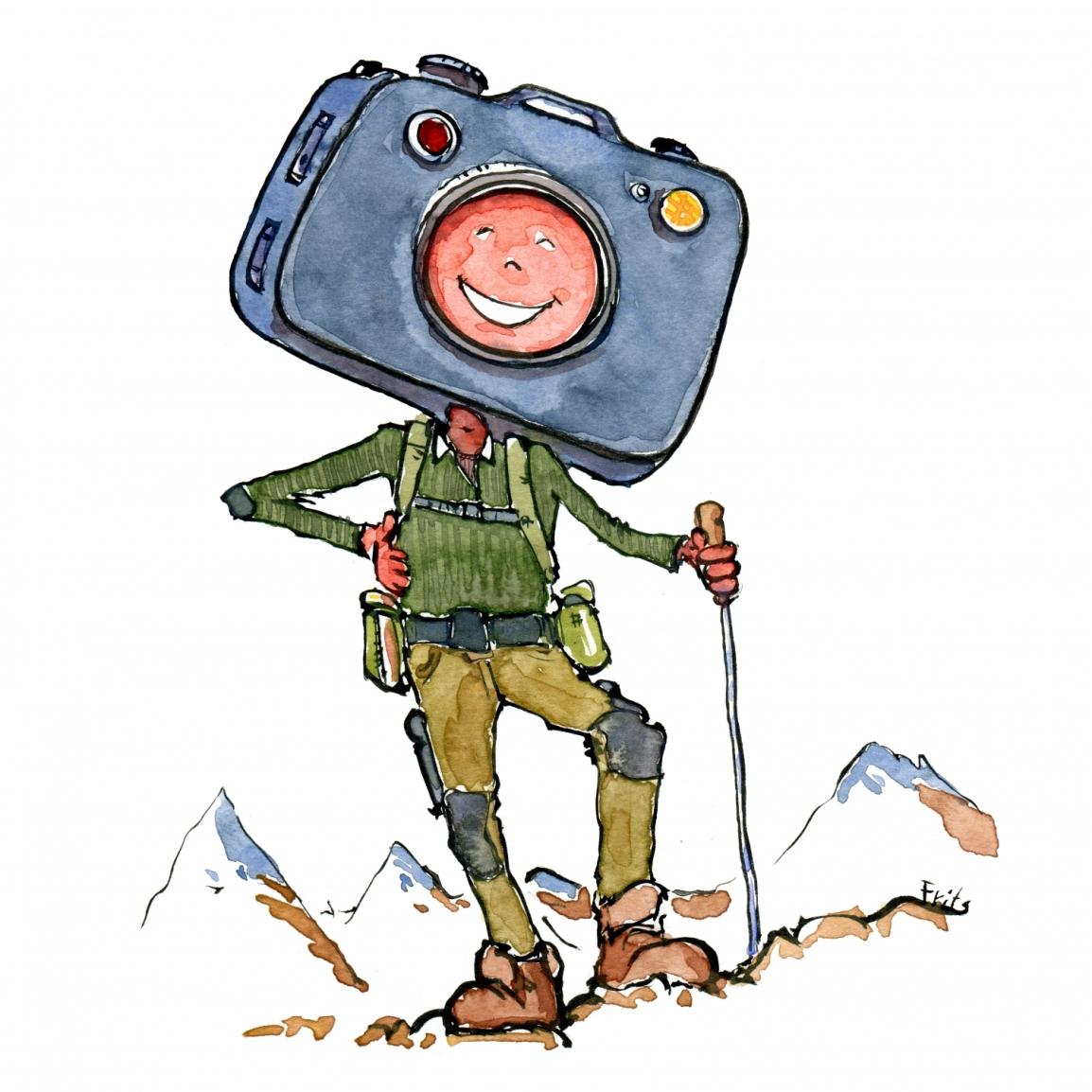 Camera hiker