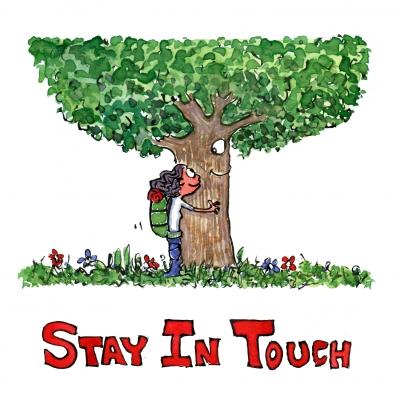 treehugger hugging tree