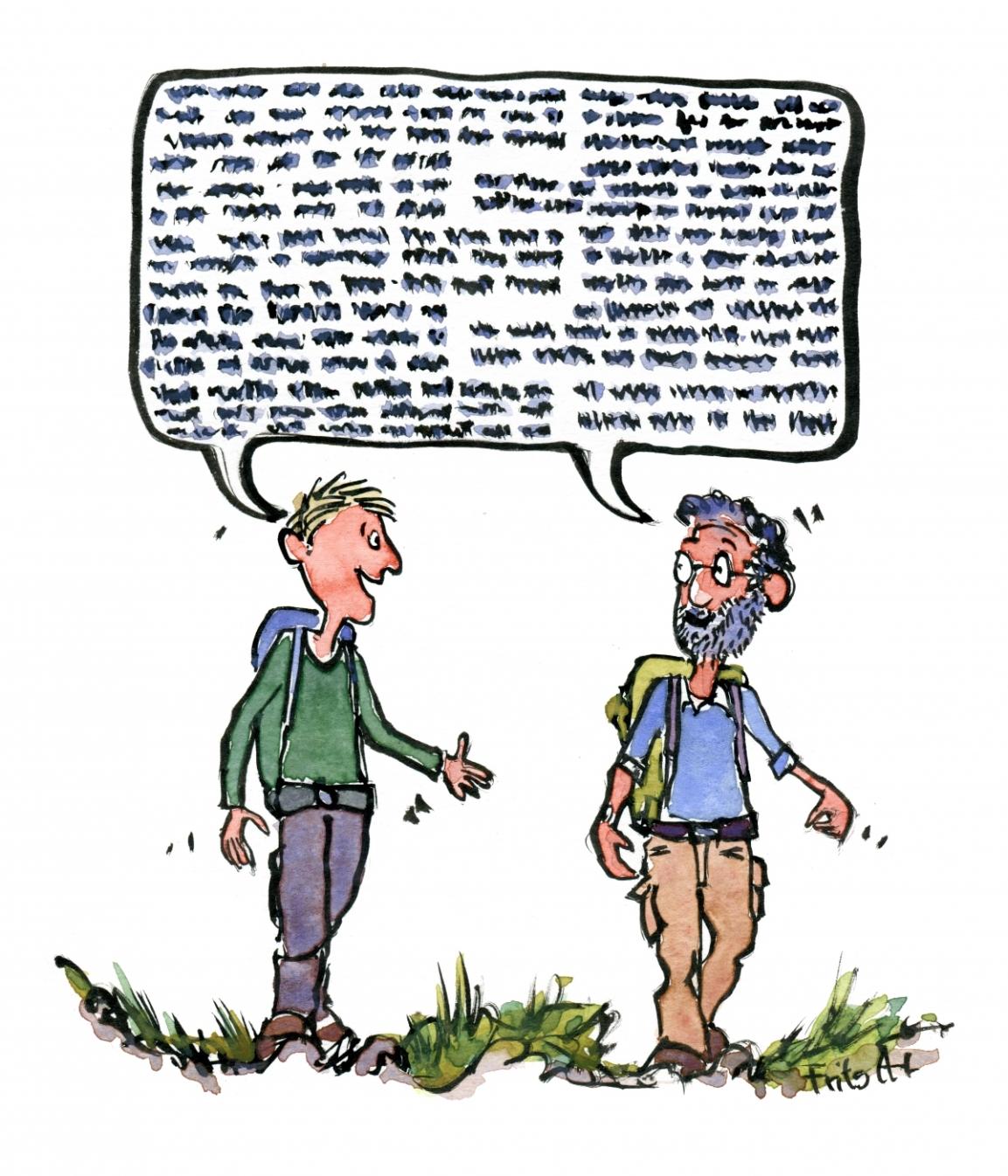 Walk the talkhikers