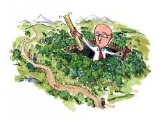 Landscape planner in the landscapes