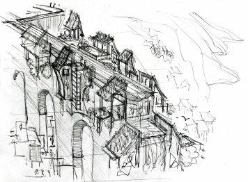 aqua-duct-green-building-pencil-concept-sketch-by-frits-ahlefeldt