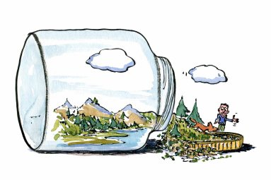 conservation-by-relationship-nature-hiking-color-illustration-by-frits-ahlefeldt