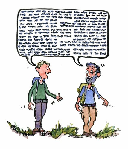 hikers-in-dialogue-while-hiking-color-illustration-by-frits-ahlefeldt