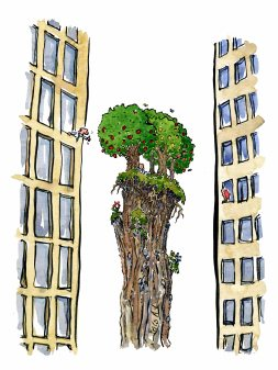 Nature vs urban reality