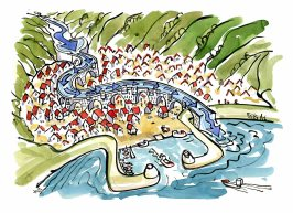 river-city-climate-change-meandering-aquaduct-idea-drawing-by-frits-ahlefeldt