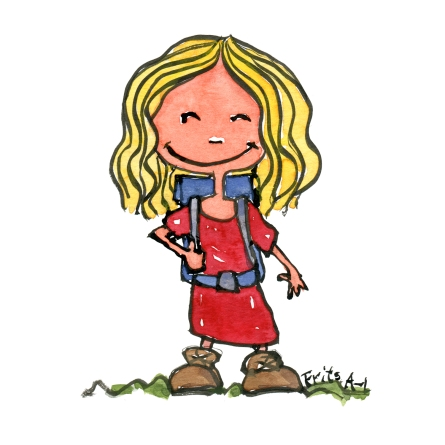 hikertypes-kid-hiker-little-girl-illustration-by-frits-ahlefeldt
