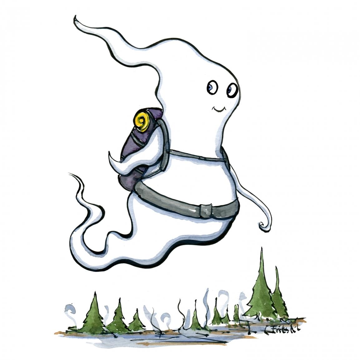 Ghost hiker