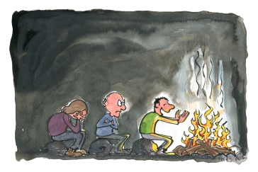 fireside-cue-line-win-warming-campfire-logic-privilege-illustration-by-frits-ahlefeldt