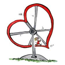 heart-hamster-wheel-running-around-love-illustration-by-frits-ahlefeldt