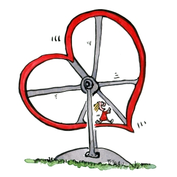 heart-hamster-wheel-running-around-love-illustration-by-frits-ahlefeldt