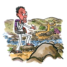 hikertype-psychologist-hiker-walking-with-therapist-talk-illustration-by-frits-ahlefeldt