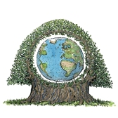 Planet-Earth-inside-a-tree-nature-illustration-by-frits-ahlefeldt