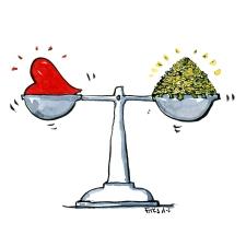 scale-heart-vs-money-illustration-by-frits-ahlefeldt