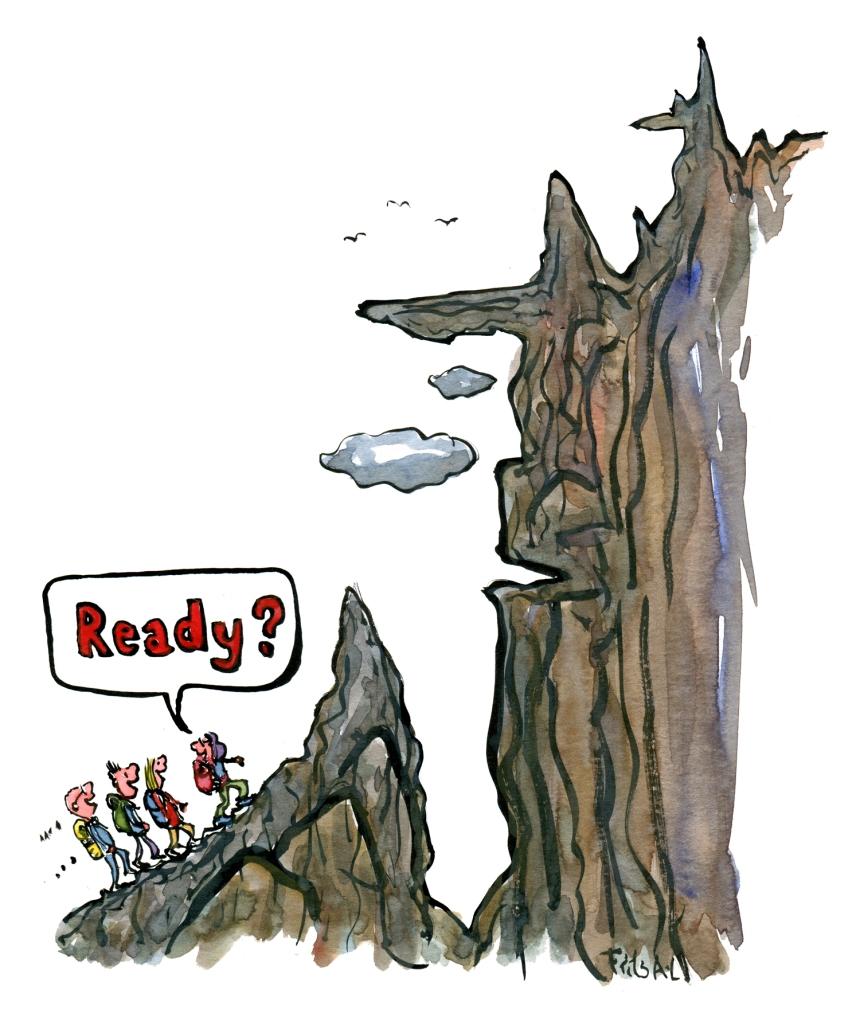 team-adventure-start-ready-preparation-mountain-illustration-by-frits-ahlefeldt