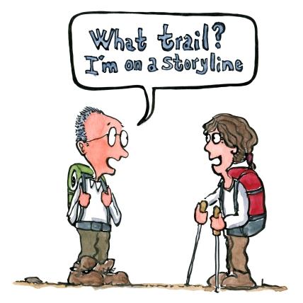 trail-storyline-hikers-storytelling-illustration-by-frits-ahlefeldt