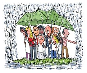 umbrella-shared-community-illustration-by-frits-ahlefeldt