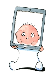 Kids today see reality through a screen more often than not