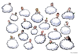 Cloud connected people