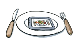 Even food is getting more and more digital