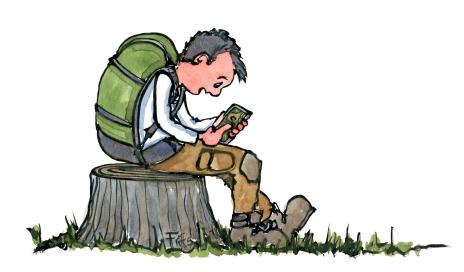 digital-map-hiker-illustration-by-frits-ahlefeldt