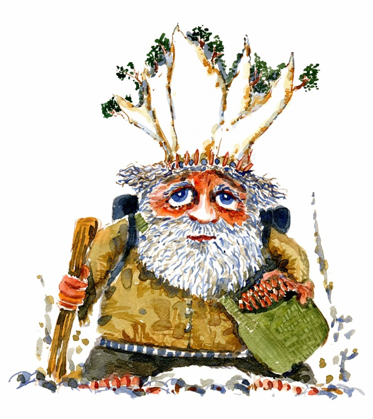 creature-watercolor-klintekongenClean-watercolor-by-frits-ahlefeldt