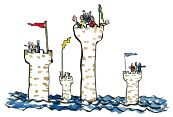 color-illustration-sea-towers-silo-thinking-closed-groups-by-frits-ahlefeldt