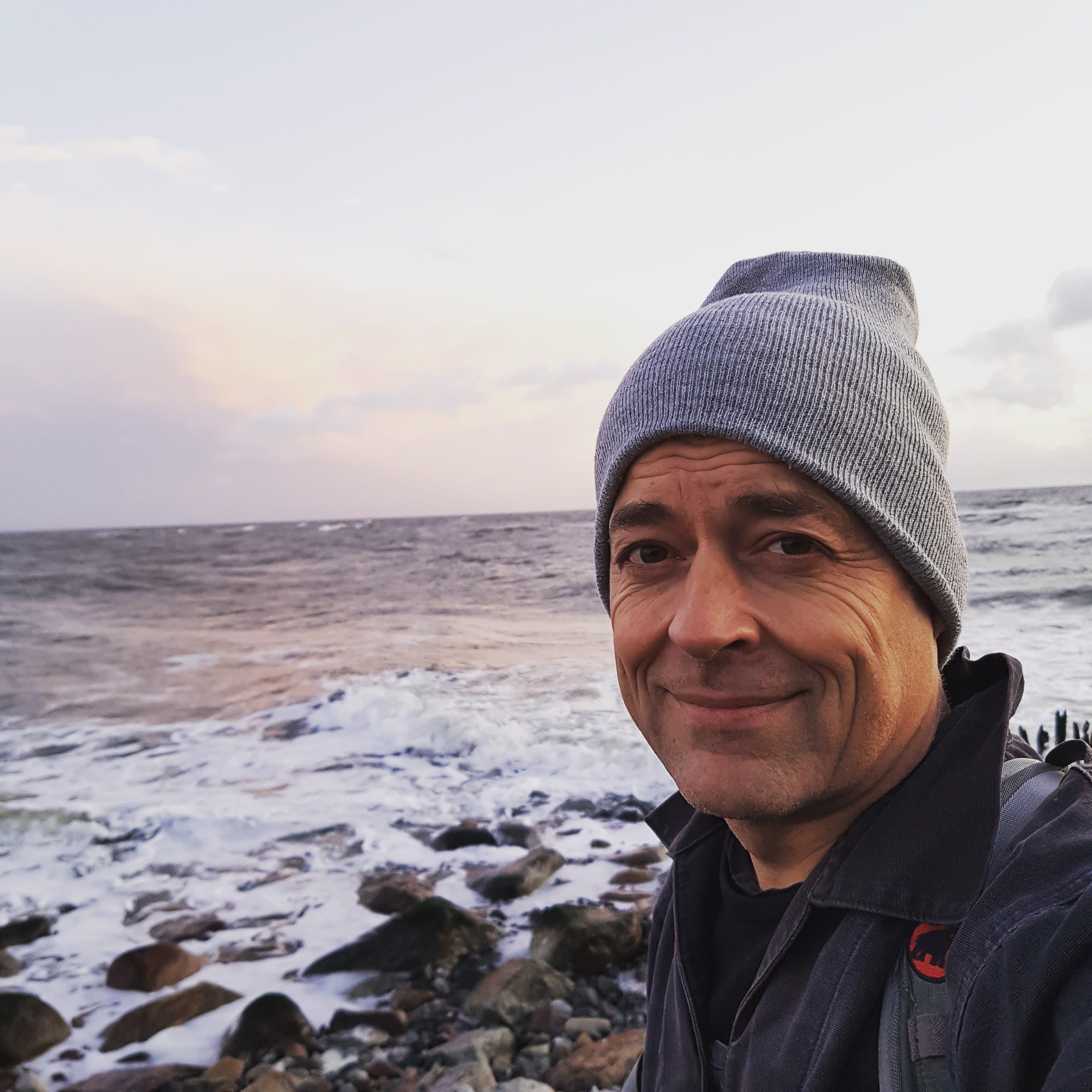 Portrait Frits Ahlefeldt - Hiking