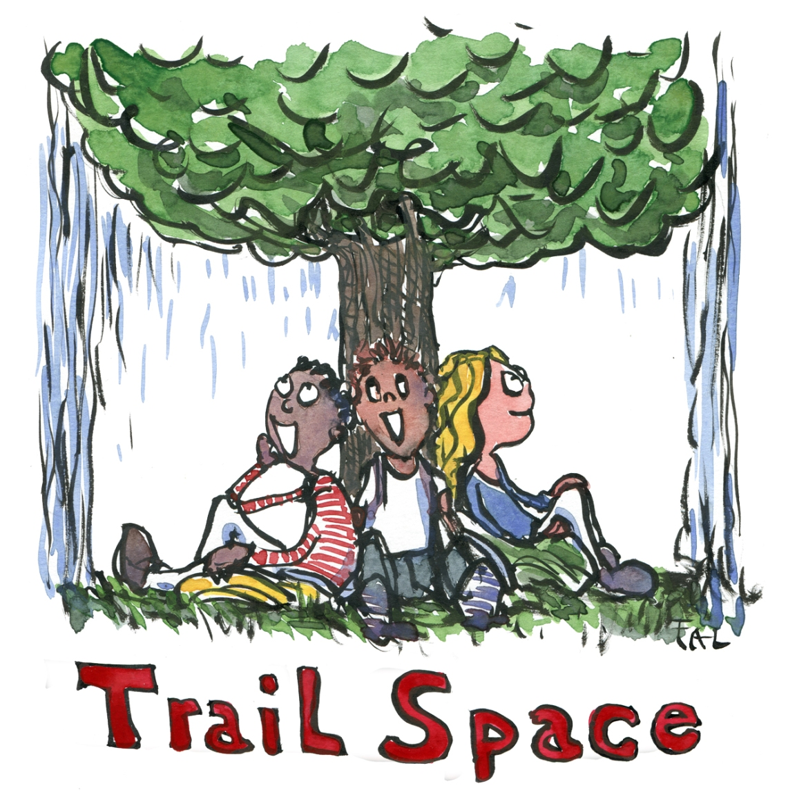 trail space thoughts on a rainy day