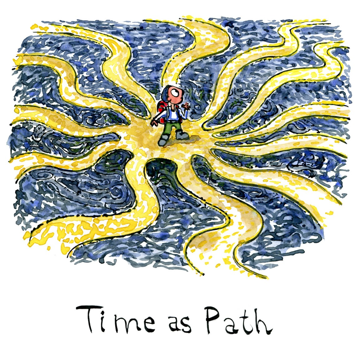 Time as path
