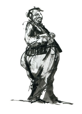ink-sketch-big-man-standing-with-book-sideview-people-by-frits-ahlefeldt-fss1