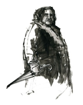 ink-sketch-big-man-with-umbrella-by-frits-ahlefeldt-fss1