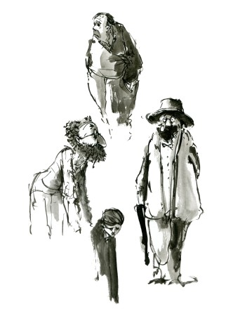 ink-sketch-four-characters-portrait-by-frits-ahlefeldt-fss1