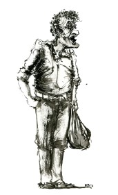 ink-sketch-man-curly-hair-bag-standing-by-frits-ahlefeldt-fss1