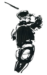 ink-sketch-man-in-black-with-cap-by-frits-ahlefeldt