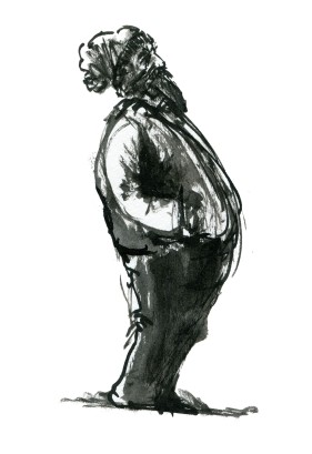 ink-sketch-man-with-beard-hat-leaning-back-people-by-frits-ahlefeldt-fss1