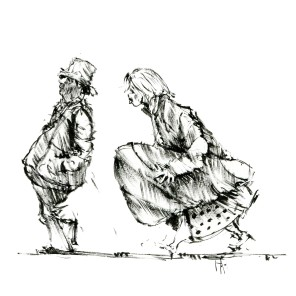 ink-sketch-man-woman-walking-with-instrument-package-people-by-frits-ahlefeldt-fss1