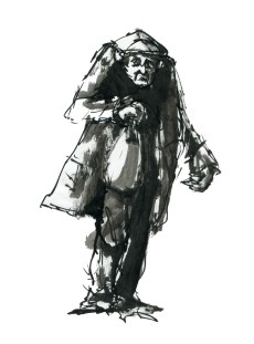 ink-sketch-old-man-with-bag-walking-towards-front-people-by-frits-ahlefeldt-fss1
