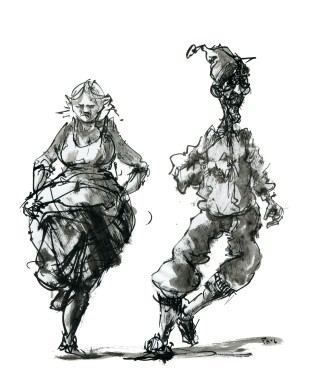 ink-sketch-people-strange-couple-dancing-by-frits-ahlefeldt-fss1