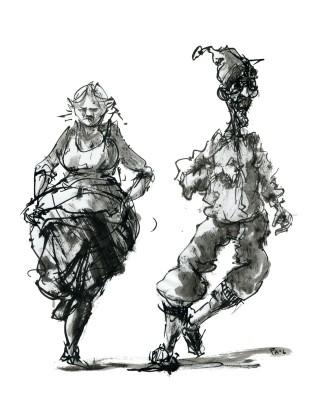 ink-sketch-people-strange-couple-dancing-by-frits-ahlefeldt-fss1