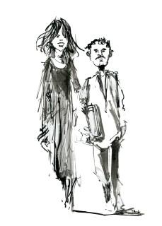 ink-sketch-tall-woman-little-man-walking-by-frits-ahlefeldt-fss1