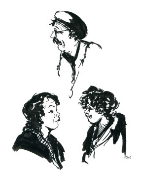 ink-sketch-two-women-and-one-man-characters-by-frits-ahlefeldt-fss1