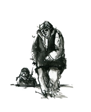 ink-sketch-woman-kid-sledge-people-by-frits-ahlefeldt-fss1