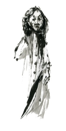 ink-sketch-woman-looking-angry-front-face-1-people-by-frits-ahlefeldt-fss1